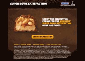 gamedaysatisfaction.snickers.com