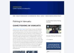 gamefishingvanuatu.com