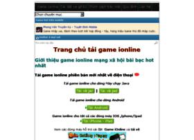 gameionlinevip.info