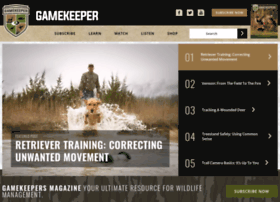 gamekeepersclub.com