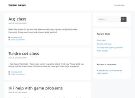 gamenews.siterubix.com