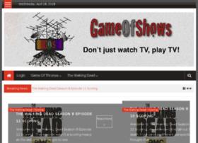 gameofshows.com