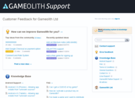 gameolith.uservoice.com