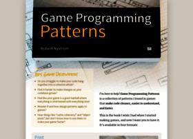 gameprogrammingpatterns.com