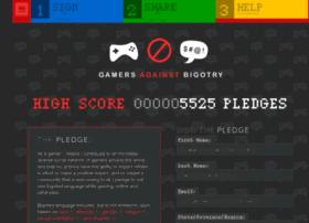 gamersagainstbigotry.org