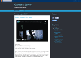 gamerssavior.blogspot.com