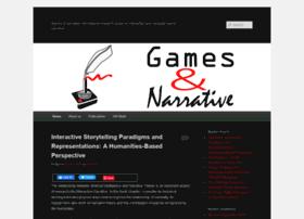 gamesandnarrative.net