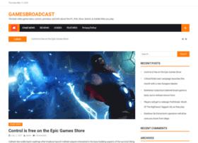 gamesbroadcast.com