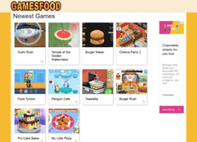 gamesfood.com