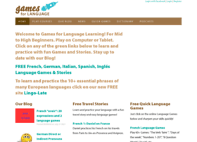 gamesforlanguage.com
