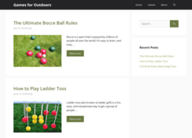 gamesforoutdoors.com