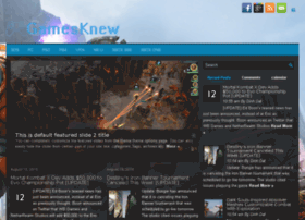 gamesknew.com