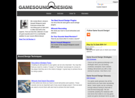 gamesounddesign.com