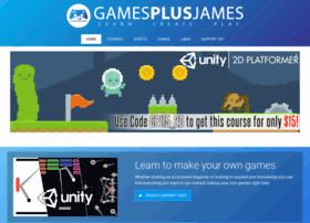 gamesplusjames.com
