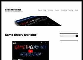 gametheory101.com