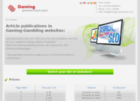 gamingpostservices.com