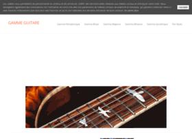 gamme-guitare.com