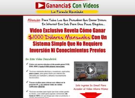 gananciasconvideos.com