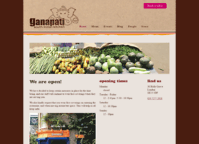 ganapatirestaurant.com