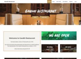 gandhirestaurant.co.uk