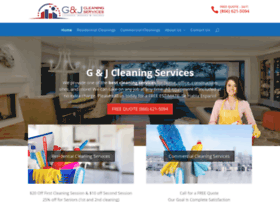 gandjcleaningservices.com