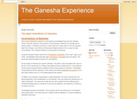 ganeshaexperience.blogspot.in