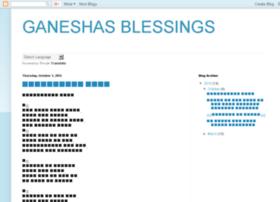 ganeshasblessings.blogspot.in