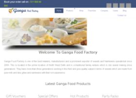 gangafoodfactory.com