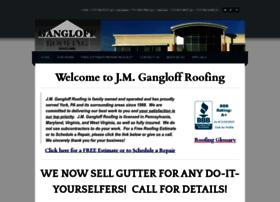 gangloffroofing.com