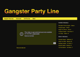 gangsterpartyline.com