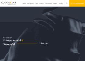 gannons.co.uk