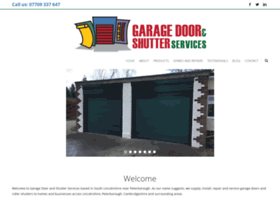 garagedoorandshutterservices.co.uk