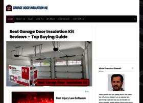 garagedoorinsulationhq.com