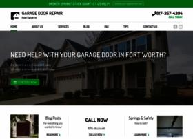 garagedoorrepair-fortworth.com
