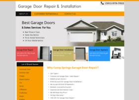 garagedoorrepaircampsprings.com