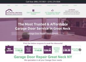 garagedoorrepairgreatneck.com