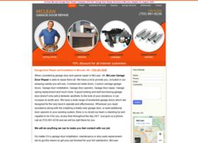 garagedoorrepairmcleanva.com
