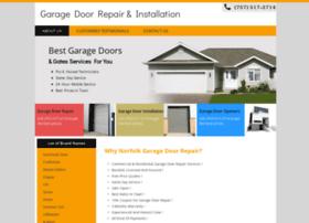garagedoorrepairnorfolkva.com