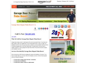 garagedoorrepairpalmdesertcal.com