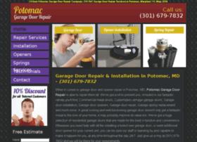garagedoorrepairpotomac.net