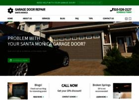 garagedoorrepairsantamonica.com