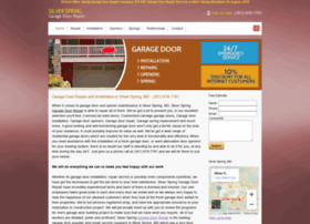 garagedoorrepairsilverspring.com