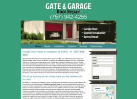 garagedoorrepairsuffolkva.com