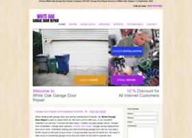 garagedoorrepairwhiteoak.com
