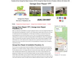 garagedoorrepairypt.com