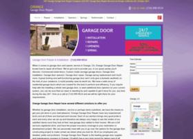 garagedoorsorangeca.com