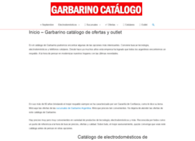 garbarinocatalogo.com