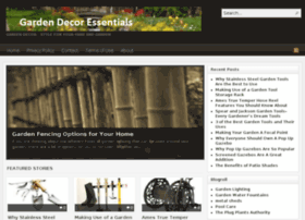 gardendecoressentials.com