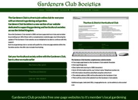 gardenersclubsocieties.co.uk