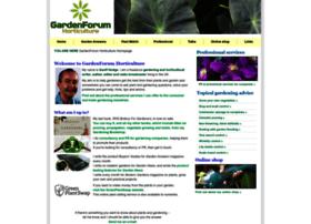 gardenforumhorticulture.co.uk